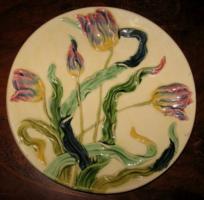 Beautiful Art Nouveau large plate from Kremnica