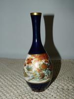 Kézi festésű Japán Satsuma váza