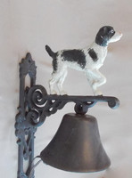 """"""" Kutya """" figurás öntvény kolomp"""