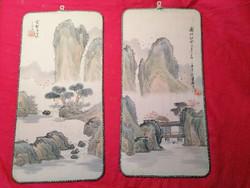 Kínai selyemképek