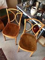 Thonet Mundus szék,székpár,2 db,garnitúra Jelzett !