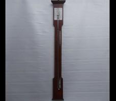 Antique huge mercury barometer 1 meter high