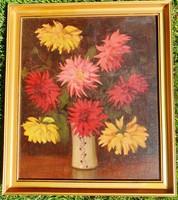 BÖRTSÖK SAMU-Csendélet virágokkal-