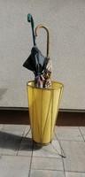Retro vintage sárga esernyőtartó. Alkudható!