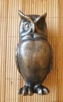 Öntöttvas Bronzírózott Bagoly