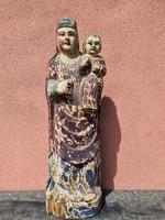 Madonna gyerekkel 20.sz faszobor