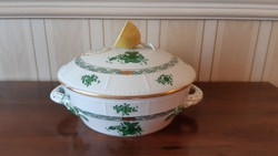 Herendi antik nagy  Apponyi mintás főzelékes/krémleveses tál