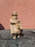 Sancho Panza márvány szobor