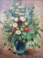Béla Iványi Grünwald (1867 - 1940)? Flower still life