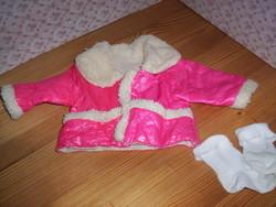 Játékbaba kabátka