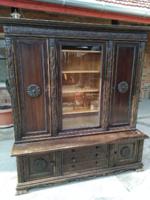 Irodabútor(könyves szekrény és íróasztal)