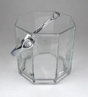 1F364 Jelzett formatervezett francia üveg jégtartó pezsőgőhűtő