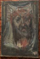 Sándorfalvi Sándor olajfestménye, 40x60cm, szignózva