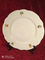 Zsolnay mesemintás nagy lapos tányér 2.