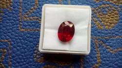 7.90 karátos rubin drágakő tanúsítvánnyal