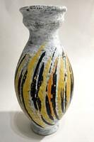 Nagyméretű Gorka Lívia kerámia váza