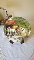 """Royal Doulton gyűjtői tányér """"A kovács"""""""