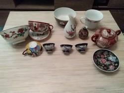 Keleti porcelánok.