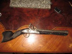 Török francia kovás tronbon (pisztoly puska)