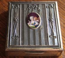 Georg Adam Scheid antik ezüst doboz.