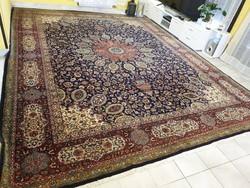 Hatalmas antik tabriz 306x400 kézi csomózású gyapjú perzsa szőnyeg MM_711