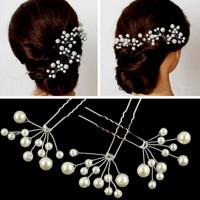 Ékszerek-hajdíszek, hajcsatok: Esküvői, menyasszonyi, alkalmi hajdísz ES-H-TŰ25 5db/csomag