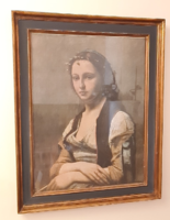 Jean-Baptiste Camille Corot - The Woman with a Pearl