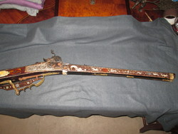 Osztrák gyártmányú keréklakatos vadászpuska