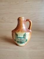 Bodrogkeresztúr ceramic memorial jug pécs (19 / d)