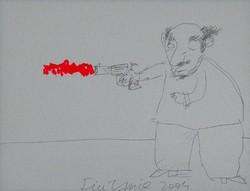 Für Emil - 35 x 45 cm ceruza, tempera, papír