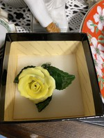 Herendi porcelán virág