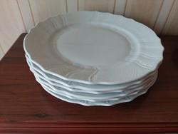 Herendi fehér lapos  tányér 6 db
