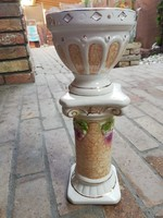 Fajansz virágtartó 31 cm