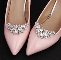 Esküvői, menyasszonyi, alkalmi cipődísz, cipőklipsz ES-CK16