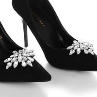 Esküvői, menyasszonyi, alkalmi cipődísz, cipőklipsz ES-CK13