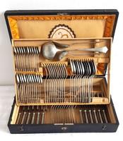 AWS Wellner 12-személyes 88db-os evőeszköz készlet dobozában