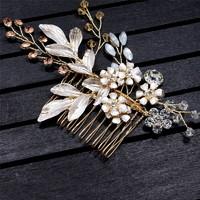 Ékszerek-hajdíszek, hajcsatok: Esküvői, menyasszonyi, alkalmi hajdísz ES-H-FÉ22