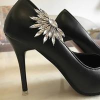 Esküvői, menyasszonyi, alkalmi cipődísz, cipőklipsz ES-CK04