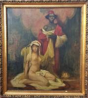 Géza Udvary / slave holder