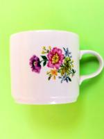 Retró Alföldi virágos csésze, bögre 119. 122.
