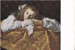Képeslap / DOMENICO FETTI / festménye