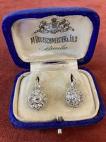 Fülbevaló Gyémántokkal