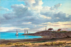 Charles Reissmann mix mix waterfront landscape