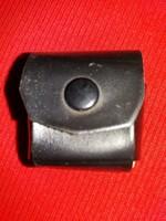 Antik japán mono fülhallgató 3,5 jack kimenet 1,5 m zsinór bőrtokban nem tesztelt a  képek szerint