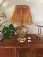 Art déco jellegű - pálmaleveles, asztali lámpa / foglalva