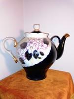 Hatalmas, orosz, porcelán teás kanna