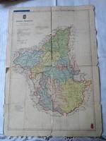 Borsod vármegye térképe
