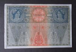 Ausztria - 1000 korona 1902 Deutschösterreich felülbélyegzéssel