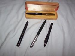 Mont Blanc,Parker 51 ,Markant, Geeks antik tollak együtt