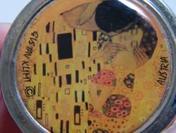 Gustav Klimt gyógyszeres doboz, szelence